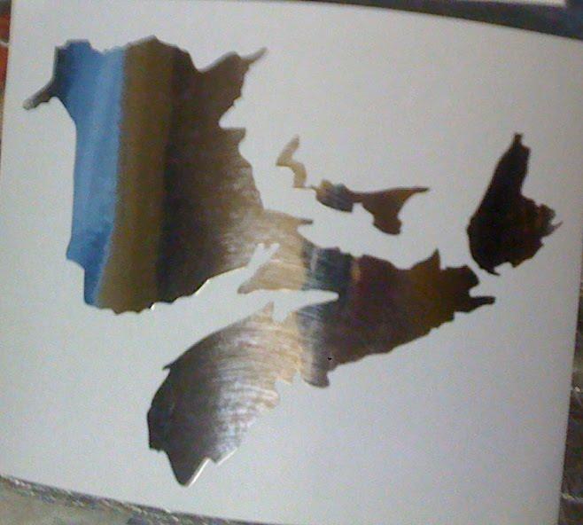 Maritimes Sticker