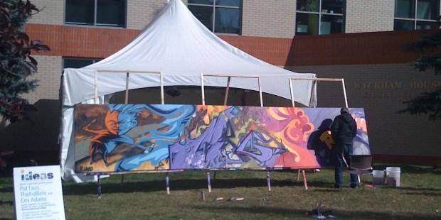 MRU graffiti