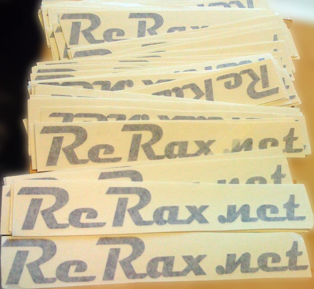ReRax decals