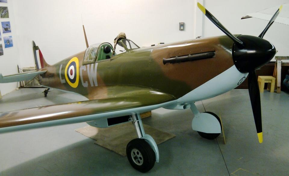 Spitfire airplane restoration