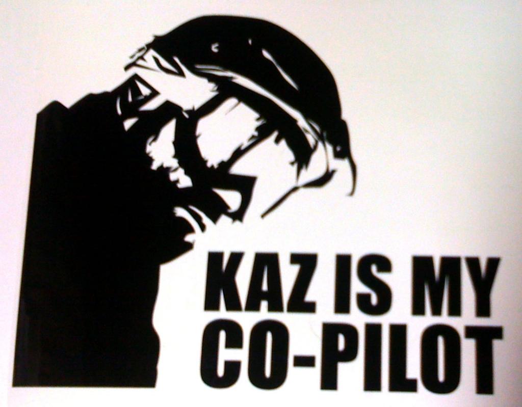 kaz is my co-pilot