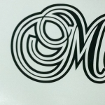 Miss Moneypenny - boat decal
