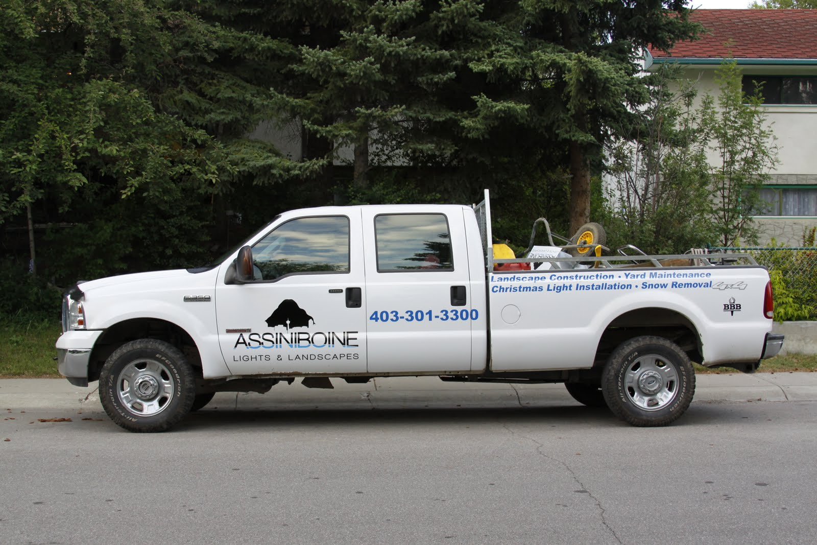Assiniboine Truck