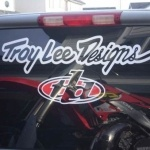 Troy Lee Designs truck install