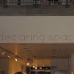 declaring space wall mural decal
