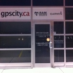 GPS City Storefront graphics Business Install