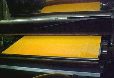 Calendered Vinyl - Photo courtesy of SignIndustry.com