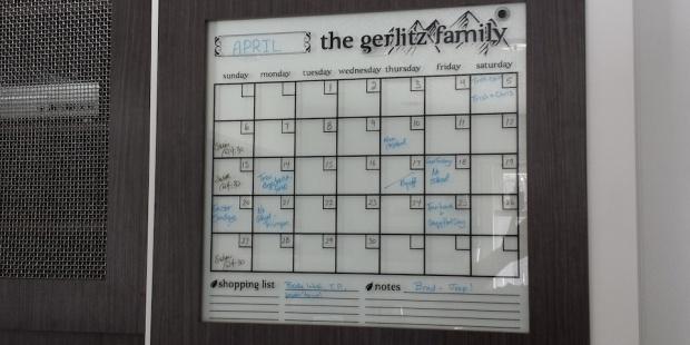custom vinyl calendar