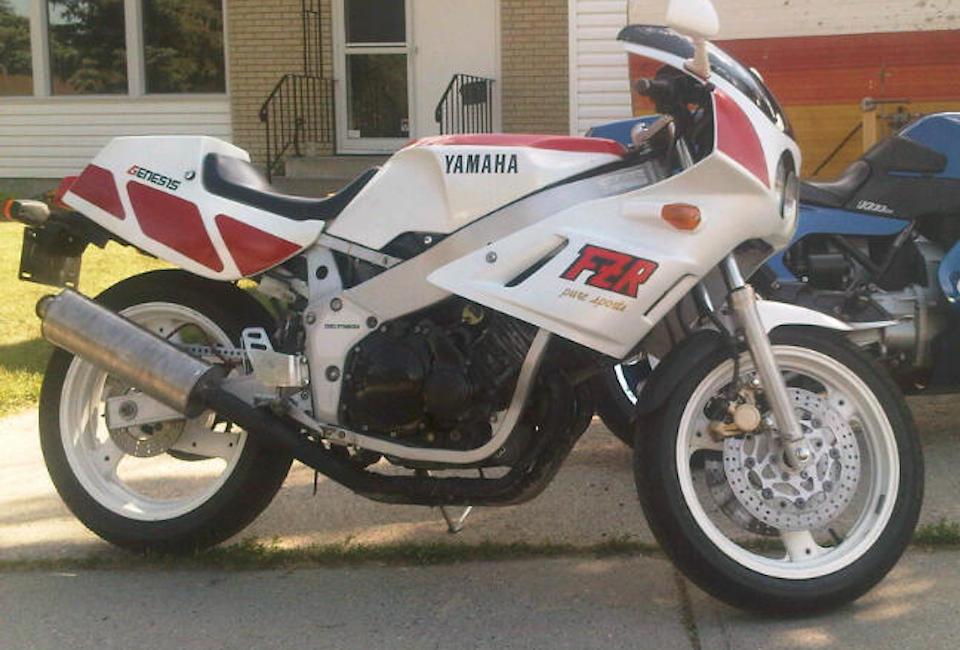 Yamaha genesis fzr 400 motorcycle restoration for Yamaha fzr fairings