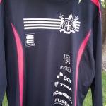 Custom bike jersey for DH racer Chris Bennett