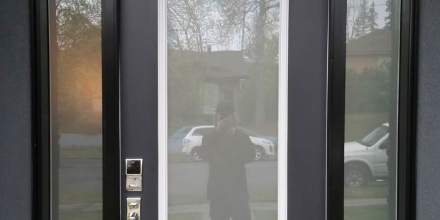Window Frosting and Privacy film installation, Calgary